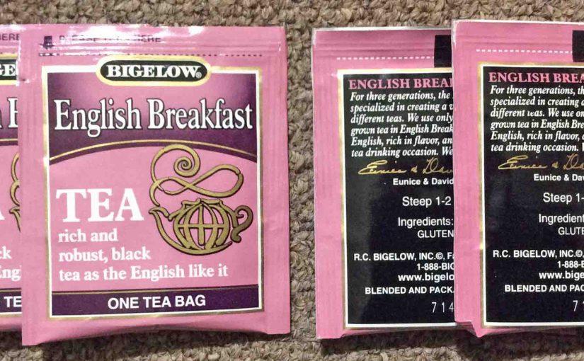Bigelow English Breakfast Tea Review