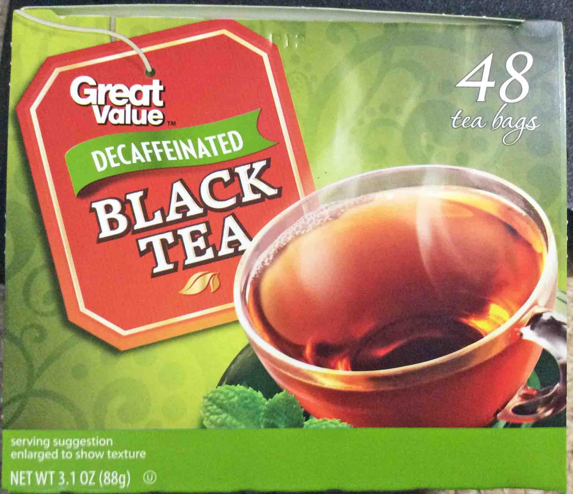 Drinking Too Much Decaffeinated Black Tea